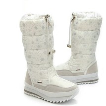 Womens Plush Ankle Boots Warm Snow Shoes Ladies Winter Autumn Waterproof... - $70.29