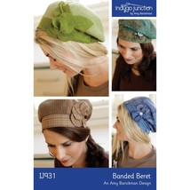 Indygo Junction Pattern Banded Beret IJ931 - $9.99