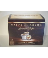 Caffe De Aroma French Toast 12 Single Serve K-C... - $9.99