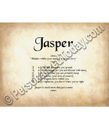 Jasper Hidden Within Your Name Is A Special Sto... - $8.95
