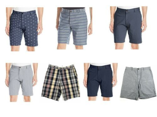 """Dockers Men's Shorts Classic Fit Flat Front Cotton Casual Short 10"""" Inseam NEW"""
