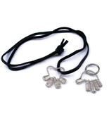 Dog & Owner matching jewelry set - Hand and Paw... - $28.00