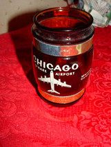 Chicago O'Hare Airport,  Old Water Tower, Marina Towers Brown Souvenirs Cup - $16.00
