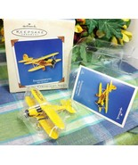 Hallmark Sky's the Limit 2002 Staggerwing ornament - $24.75