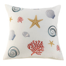 "SEASIDE THROW PILLOW  20"" x  20"" - $29.95"