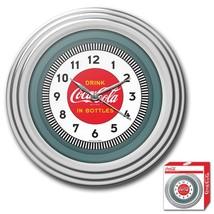 30s Style Chrome Coca-Cola Wall Clock - $69.00