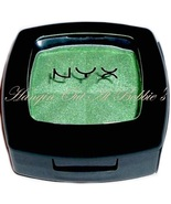 NYX Cosmetics Single Eye Shadow Pot Eyeshadow #98 HOT GREEN New - $4.59