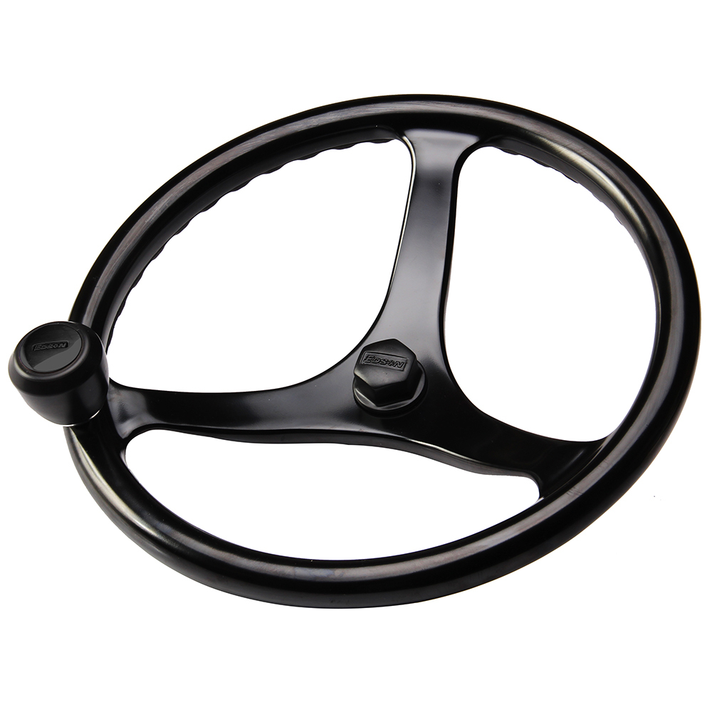 "Edson ""Special Ops"" Powerwheel - Black w/Black Nut  Knob [1710BL-13B-KIT] - $692.46"