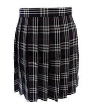 Women`s School Uniform High Waist Flat Pleated Skirts(3XL waist 86cm/33.... - $23.75