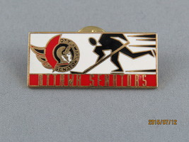 Ottawa Senators (NHL) Pin - Player in Suit with Team Logo - Cool !!!  - $15.00