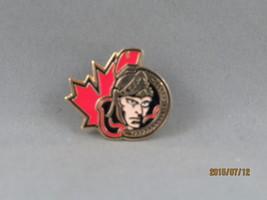 Ottawa Senators (NHL) Pin - Modern Team Senator Logo with Maple Leaf  - ... - $15.00