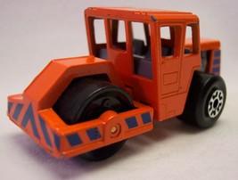 Vintage 1979 Orange Roller MATCHBOX Metal Construction Vehicle Toy - $12.38