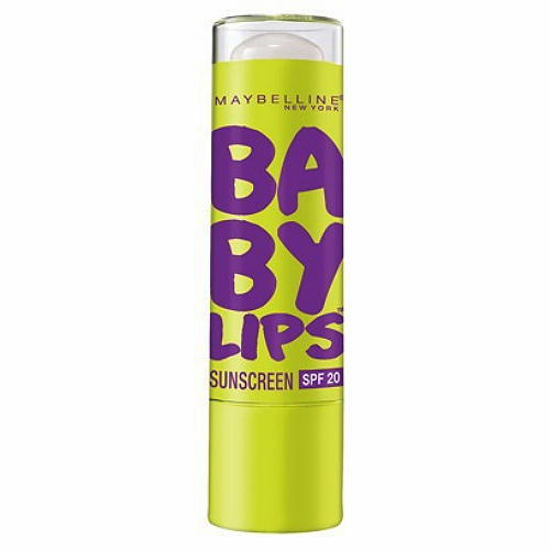 Baby Lips PEPPERMINT No 10 Moisturizing Lip Balm Sunscreen SPF 20 Maybelline