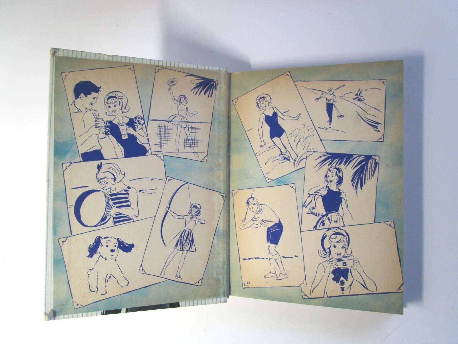 1964 Ideal Doll Tammy Adventure in Squaw Valley Book by Whitman Publishing