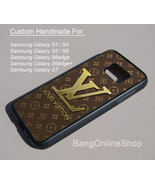 Brown Pattern LV Style Cover Samsung Galaxy S7 S7edge S6 S6edge S5 S4 S3 Case - $14.99