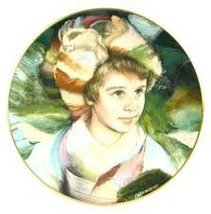 """Royal Doulton Collector Plate """"Adrien"""" By Francisco Masseria - $23.74"""