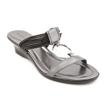 Alfani Orchard Womens Gray Open Toe Wedge Sandals Shoes 6 M - $35.99