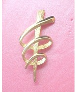 Modern abstract Statement Pin signed JJ © 1986 - $9.00