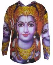 XL Yoga Hoodie Ganesh Hindu Zen Om SHIVA India RAMA AUM Buddha Ganesha p... - $24.74