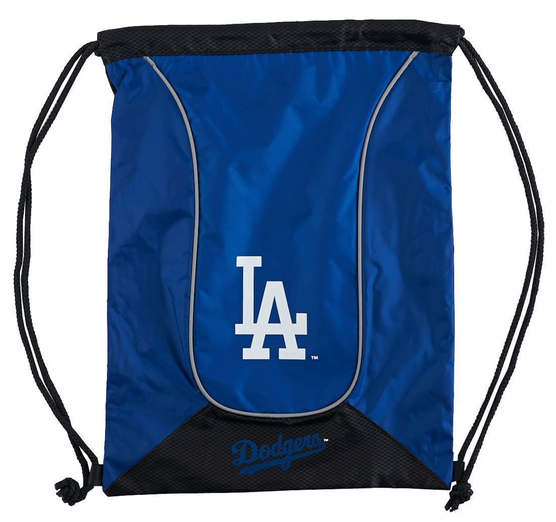 LOS ANGELES DODGERS DOUBLEHEADER BACK SACK PACK SCHOOL GYM BAG MLB BASEBALL