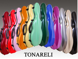 NEW Tonareli Violin Case w/ attachable Music Bag - Choice of in-stock co... - $259.00