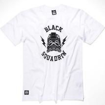 Addict Chasseur Tie De Star Wars Escadron Noir col blanc Tee T-Shirt - $52.02