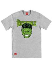 Addict Marvel Bd De Super-héros Pour Le Collège Incroyable Hulk Gris Cre... - £32.08 GBP