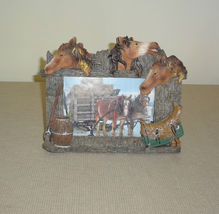 Western Americana Horse and Saddle Theme Rustic... - $19.99