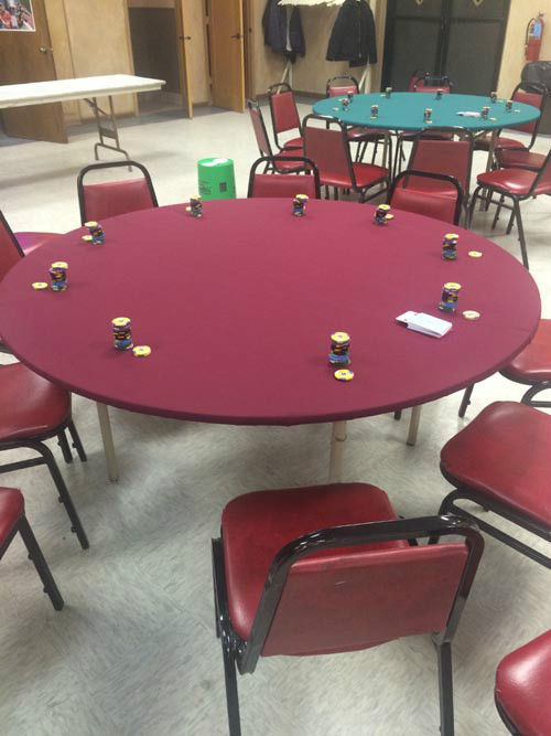 Speed Cloth Poker Table Cover For Round And Similar Items - 60 round table pad