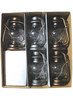 PATIO LIGHT OIL LANTERN 7 PC SET - C7 CAMPING LANTERN - 1 set - $85.00