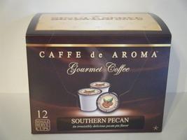 Caffe de Aroma Flavored Southern Pecan 12 Single Serve K- Cups. Free Shi... - $10.45