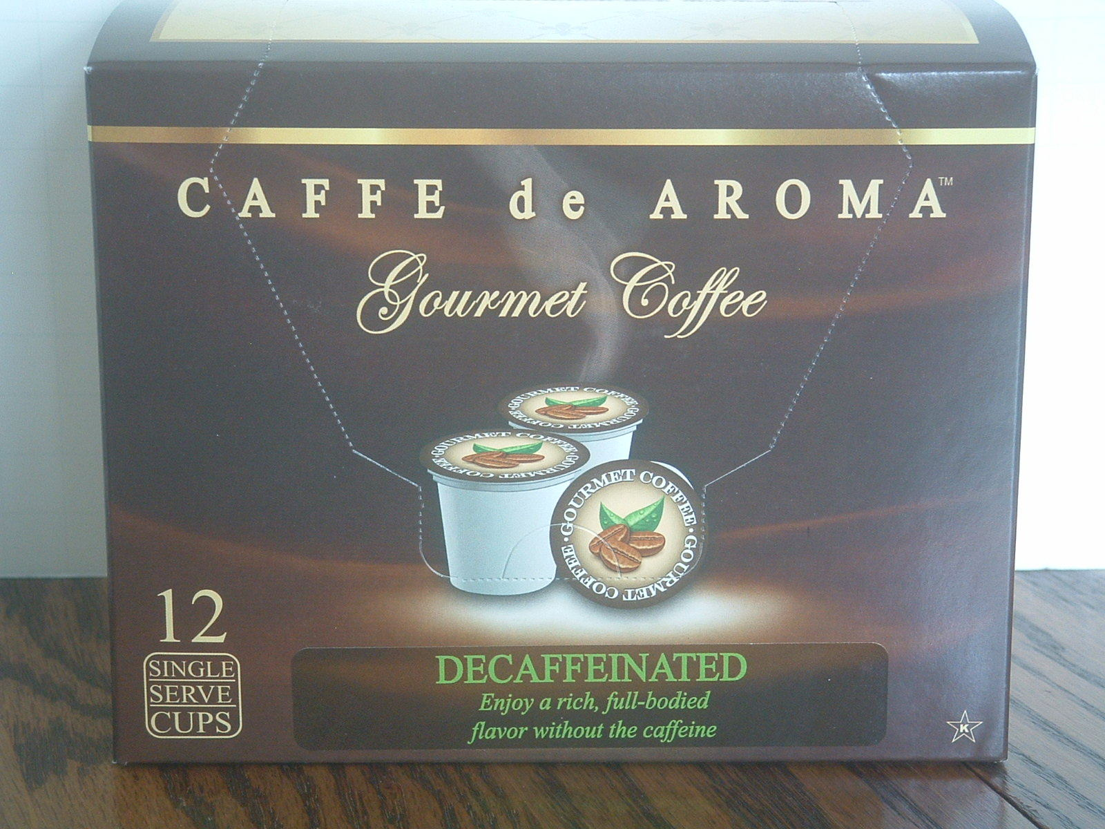 Prem. Decaffeinated Coffee Single Serve Cups for the K-Cup Brewer. Free Shipping