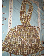 Apron - Cotton Apron Vintage from the 40's - $7.00
