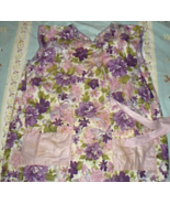 Apron (Color Floral) Smock Style - $4.95