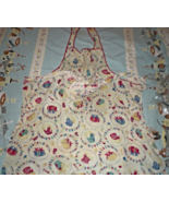 Apron - Vintage from the 1950's - Smock Style - $5.00