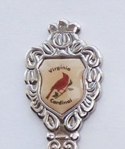 Collector Souvenir Spoon USA Virginia Cardinal Emblem - $2.99