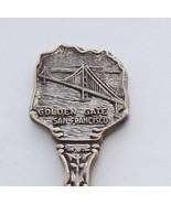 Collector Souvenir Spoon USA California San Francisco Golden Gate Bridge... - $6.99