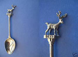 Canada Souvenir Collector Spoon Collectible Canadian Deer Figural - $5.95