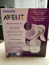 Philips Avent Manual Breast Pump With Soft Massage Cushion-NEW - $31.00