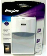 Energizer Coverlet Nightlight With 2.1 USB LED New! - $7.83