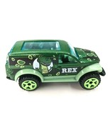 Hot Wheels Disney Pixar Toy Story 4 REX Power Panel 2002 Green Dino Jeep... - $7.84