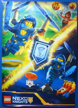 Lego Nexo Knights 2 Sided Poster 19x27 Inch - $8.41