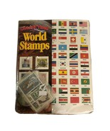 Collecting World Stamps Stamp Collecting Booklet + Stamps from around th... - $49.49