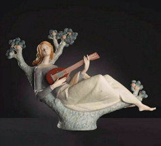 Lladro 8596 Romantic Serenade Large Porcelain Figurine Limited Edition New - $1,584.00