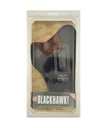 "NIB Blackhawk! Holster Nylon Inside the Pants Right Black 4"" Barrel Med ... - $23.76"