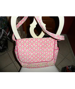 Peach/Pink baby diaper bag by Pomegranate - $11.00