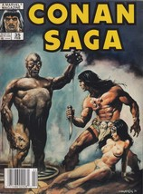 Conan Saga #35 (Newsstand) VG; Marvel | low grade comic - save on shippi... - $1.50