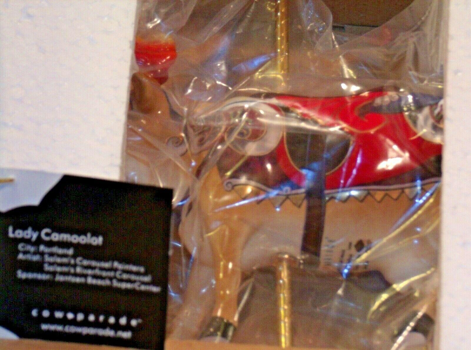CowParade Lady Camoolot Westland Giftware # 7315 AA-191951 Collectible