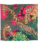 Hermes Giraffes The Three Graces Silk Scarf 90cm 20years on eBay - $470.25