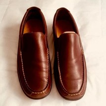 Cole Haan Tucker Leather Mens Shoes Loafers Size 9.5M Tan Driving Moccasin - $53.01
